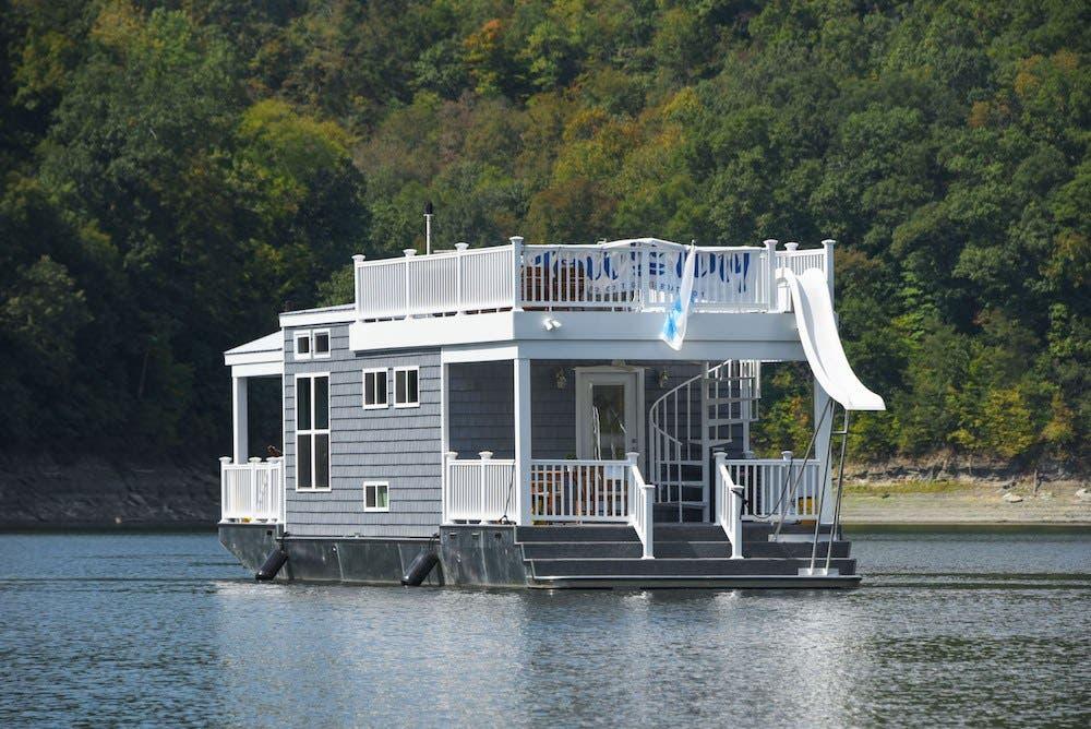 Harbor Cottage Tiny Houseboat Tiny House Blog
