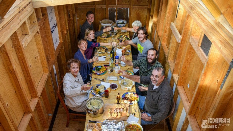 Hosting Thanksgiving In A Tiny House Tiny House Blog