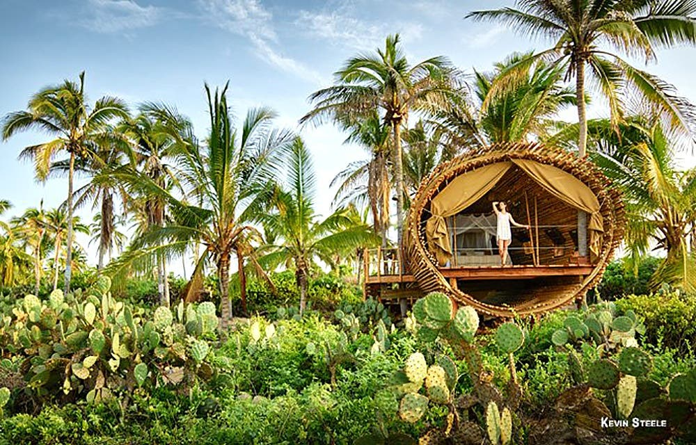 Bamboo Cabins And Desert Getaways On Boutiquehomes Tiny