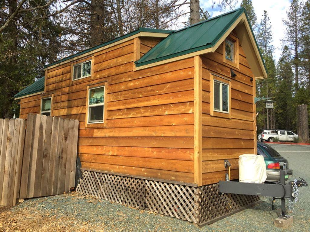 Tiny Home Designs: California Campground Host's Tiny House Tour