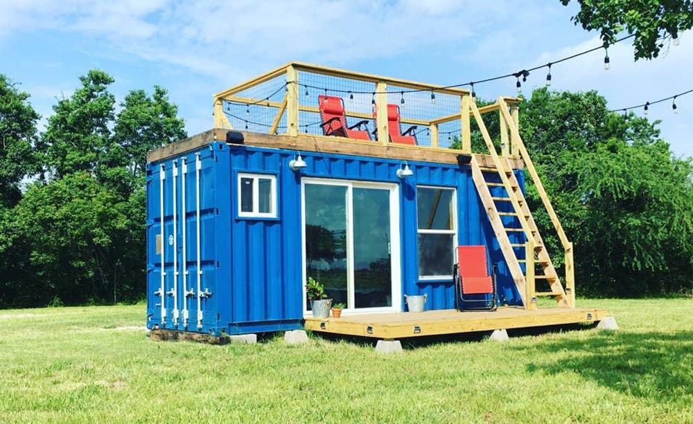 Custom shipping container homes and diy show from Containers turned into homes