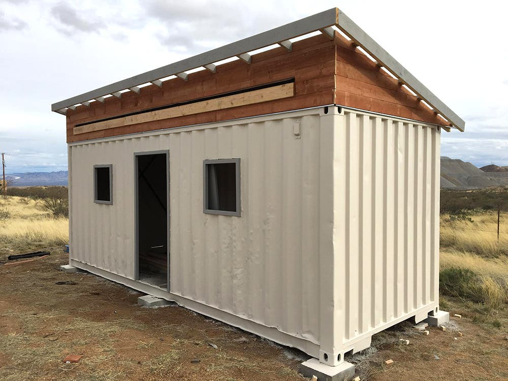 Homesteadonomics' Shipping Container Leftovers Tiny House - Tiny