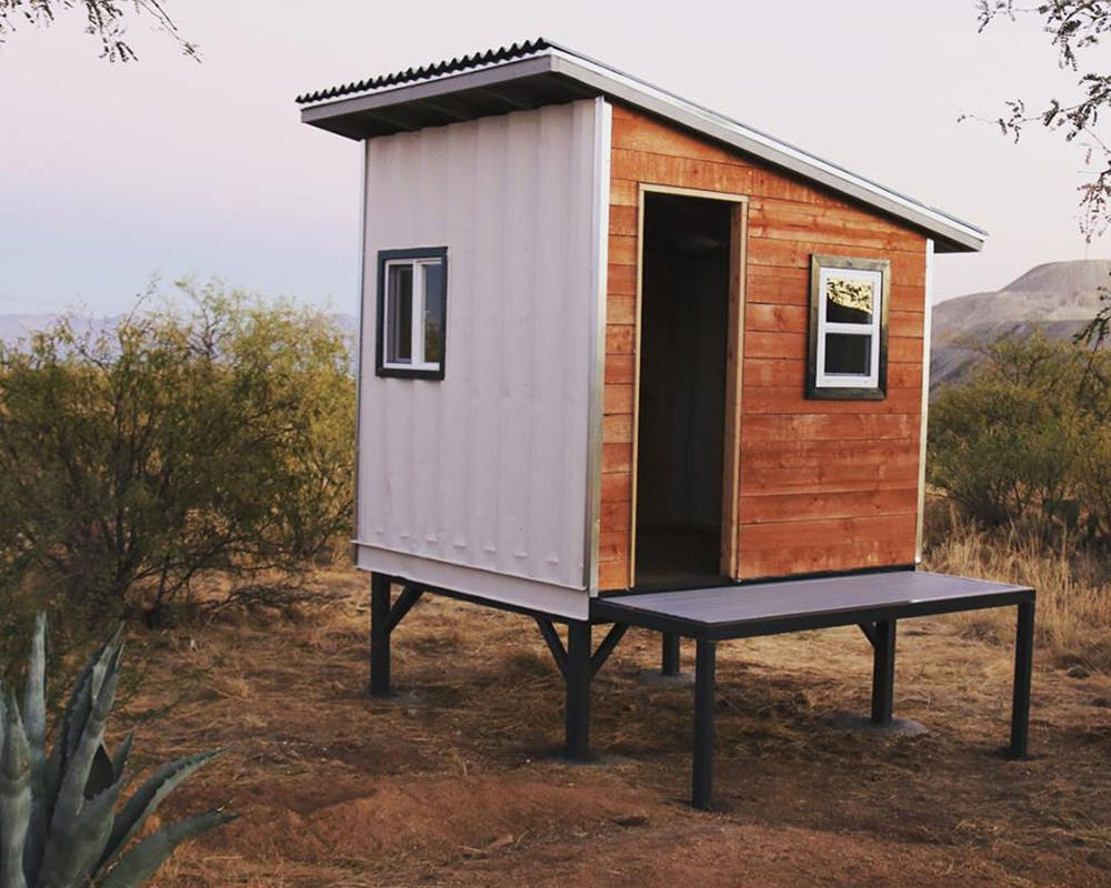 Homesteadonomics shipping container leftovers tiny house for Tiny house blog