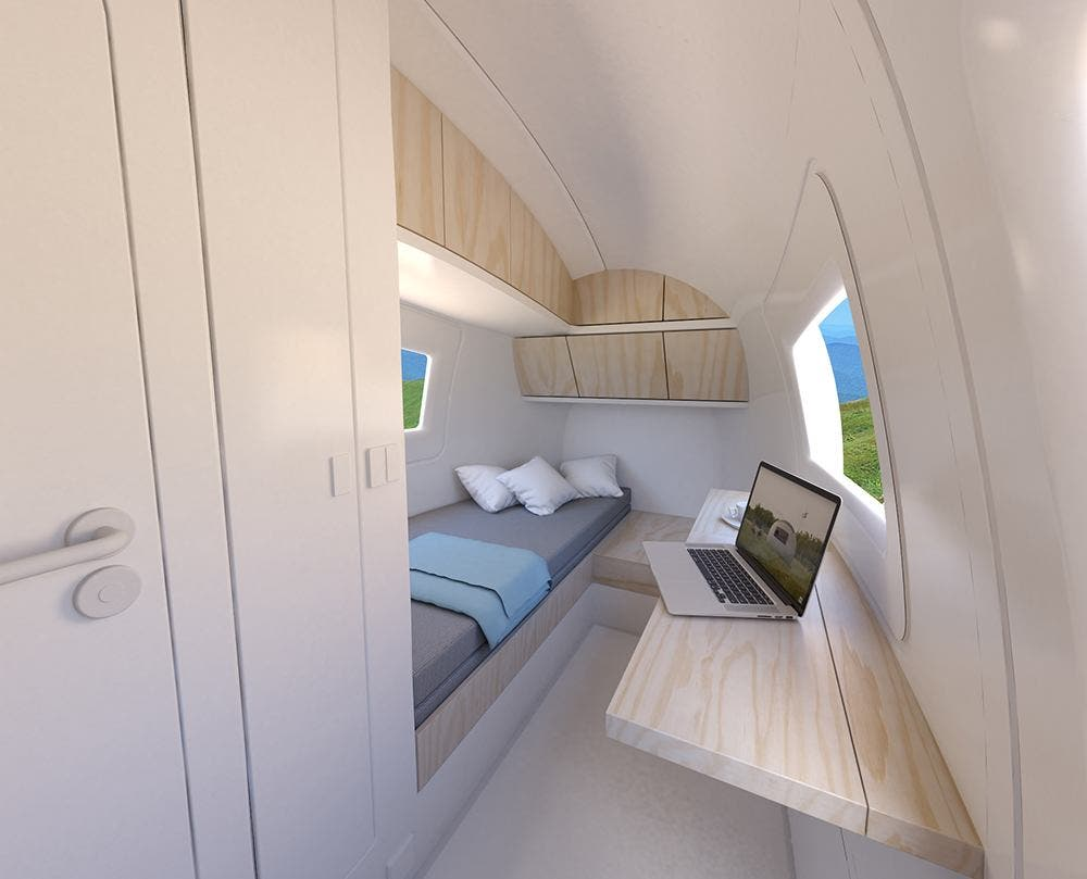 Self Contained Futuristic Ecocapsule Can Be Ordered