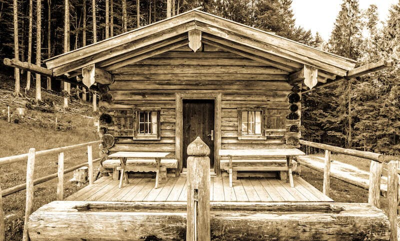 How To Build Your Own Tiny Off Grid Cabin Today