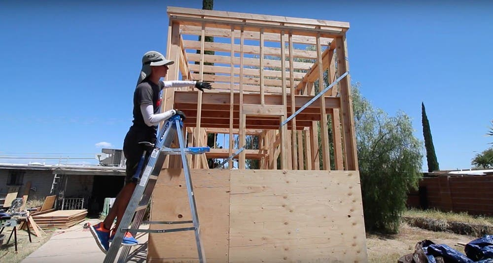 How much does it really cost to build a tiny house tiny for How much to build an a frame house