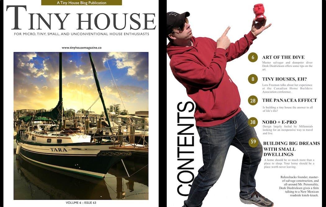 Tiny House Magazine Living On The Water Tiny House Blog