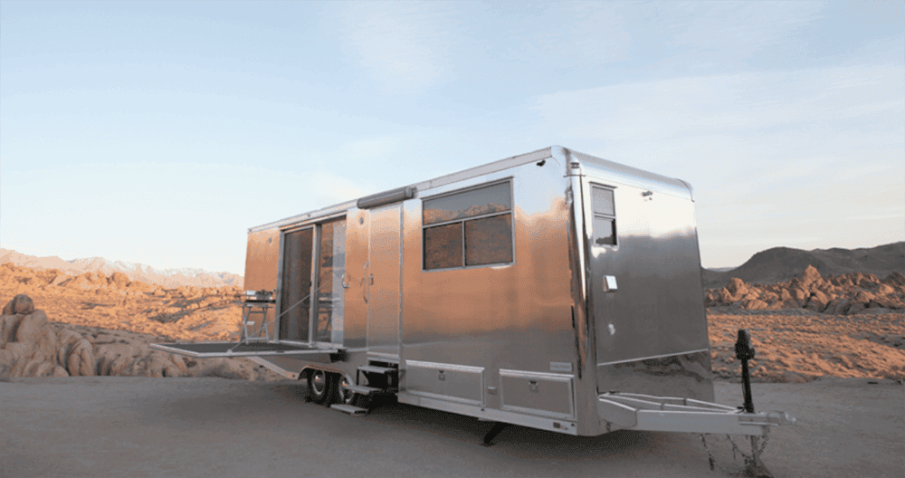 Modern, mobile Living Vehicle has innovative secrets - Tiny House Blog