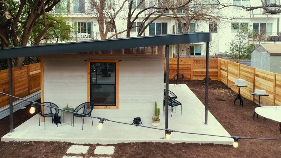 Nice 3D Printer Creates $10,000 Tiny House In 24 Hours