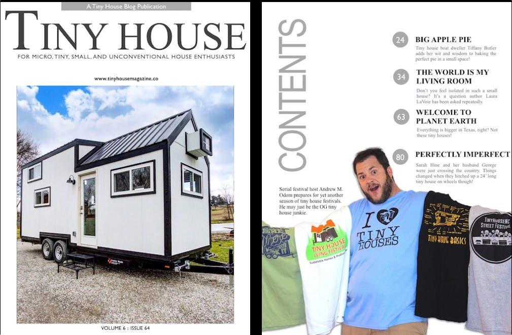 Tiny house magazine issue 64 tiny house blog for Tiny house blog