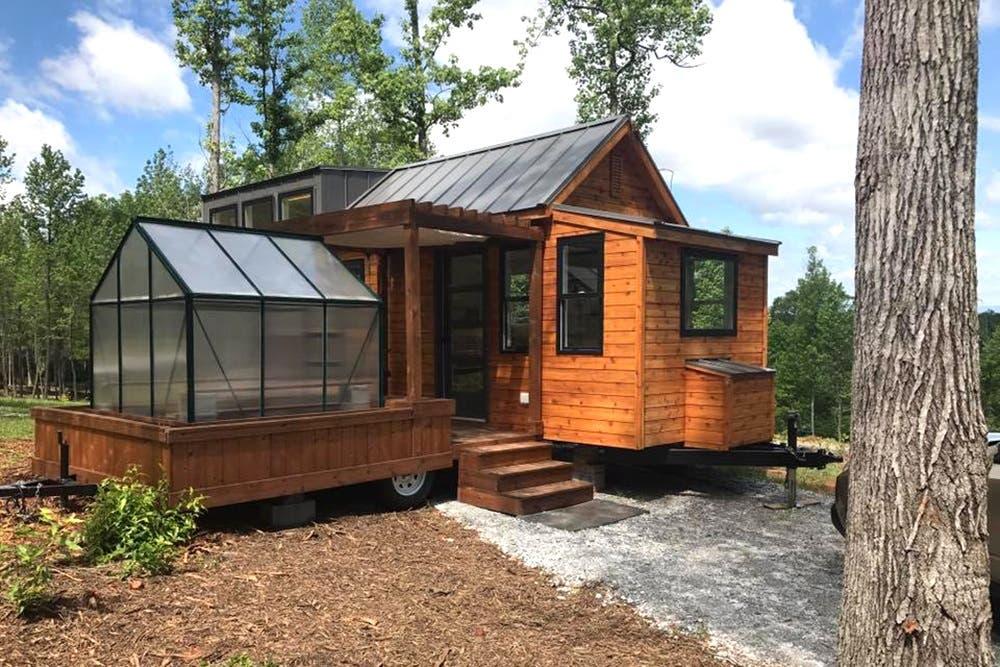 Lake Walk: New Tiny House Community Near Greenville, SC
