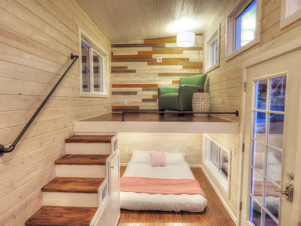 Roomy Retreat Features Main Floor Sleeping Space Tiny