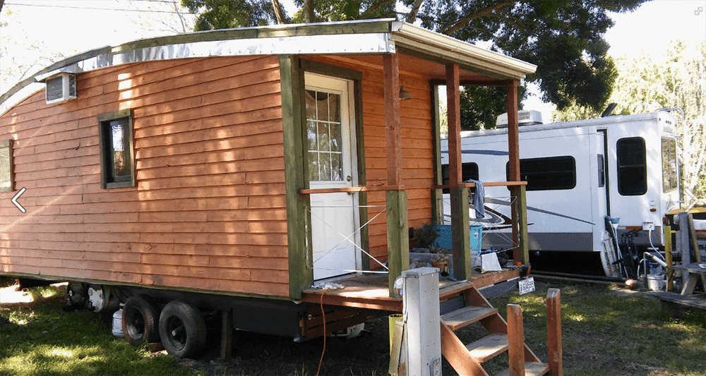 Delta bay n california s first legal tiny house for Tiny house blog family