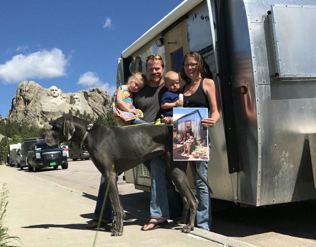 Changes on the road with macy miller and family tiny for Tiny house blog family