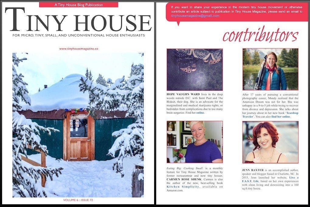 Holiday Tiny House Magazine