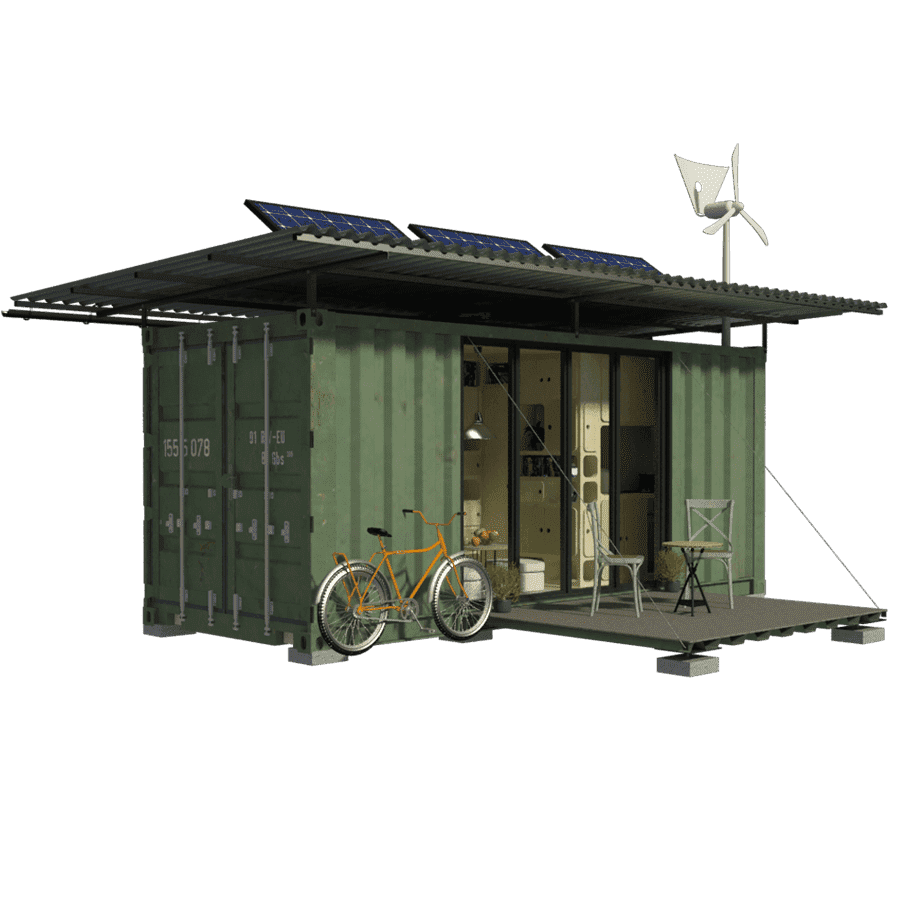 Shipping Container Cabin Plans Julia