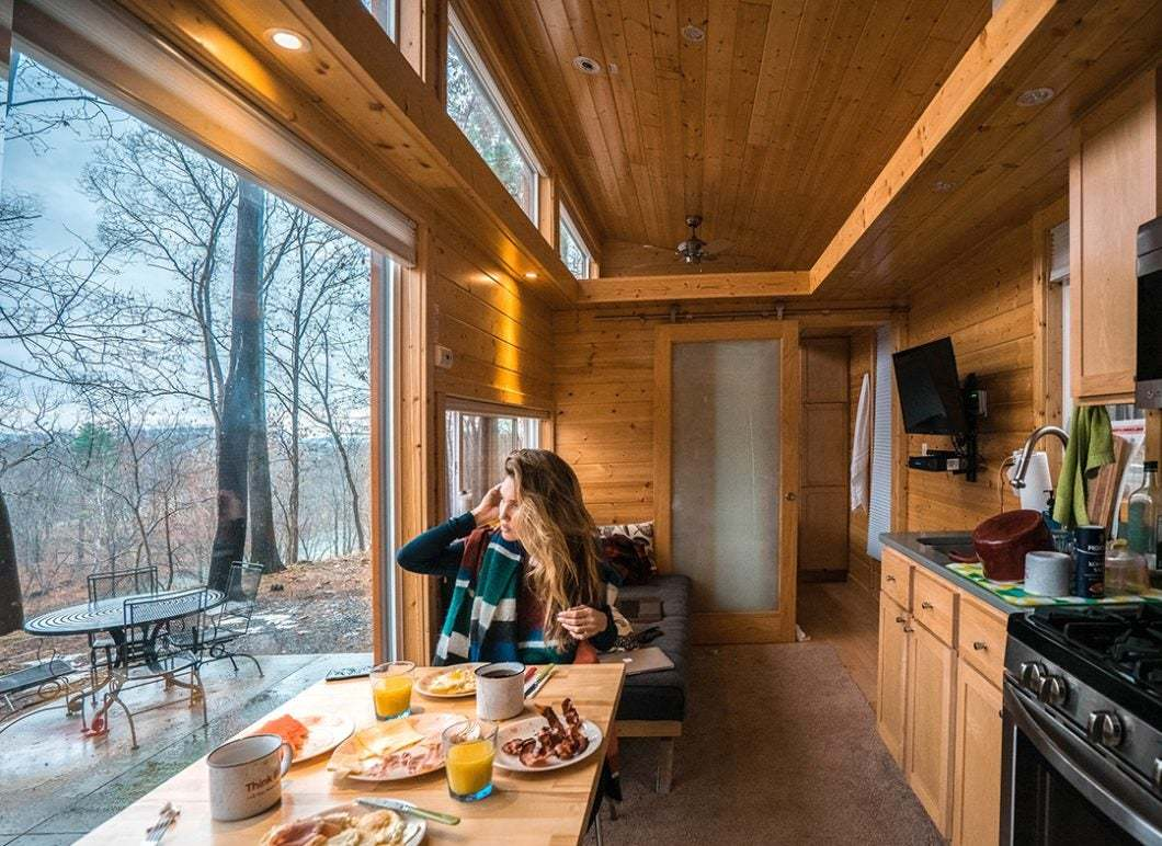 Tiny Home Designs: Escape To A Tiny House Resort Near Woodstock