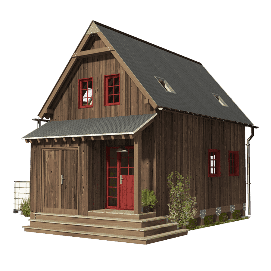 Amy a Small 3 Bedroom Tiny House - Tiny House Blog