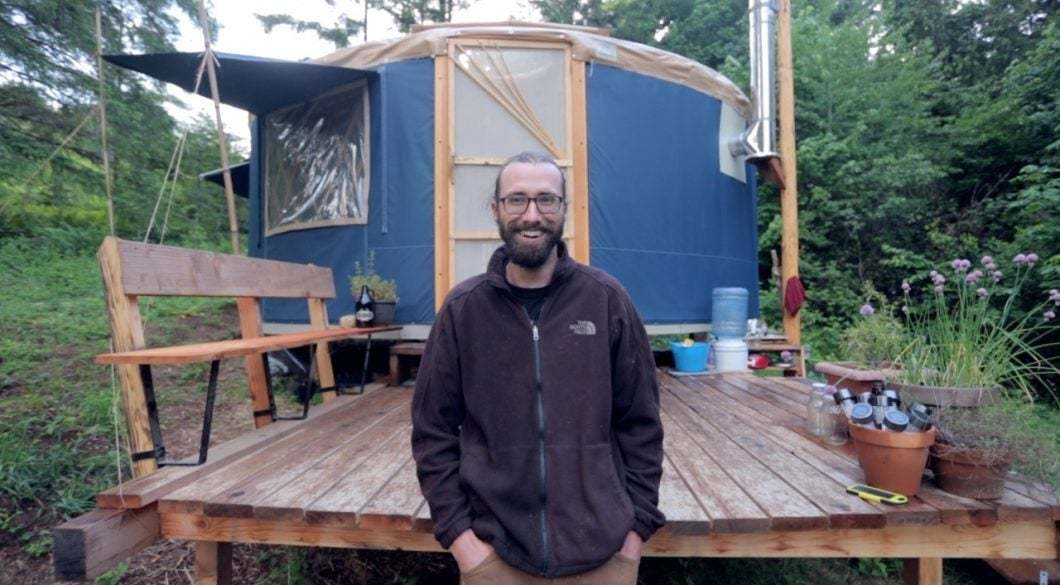 Off Grid Yurt Living With Smart Frugal Diy Hacks Tiny House Blog Staying in a yurt means staying connected with the outdoor environment. off grid yurt living with smart frugal