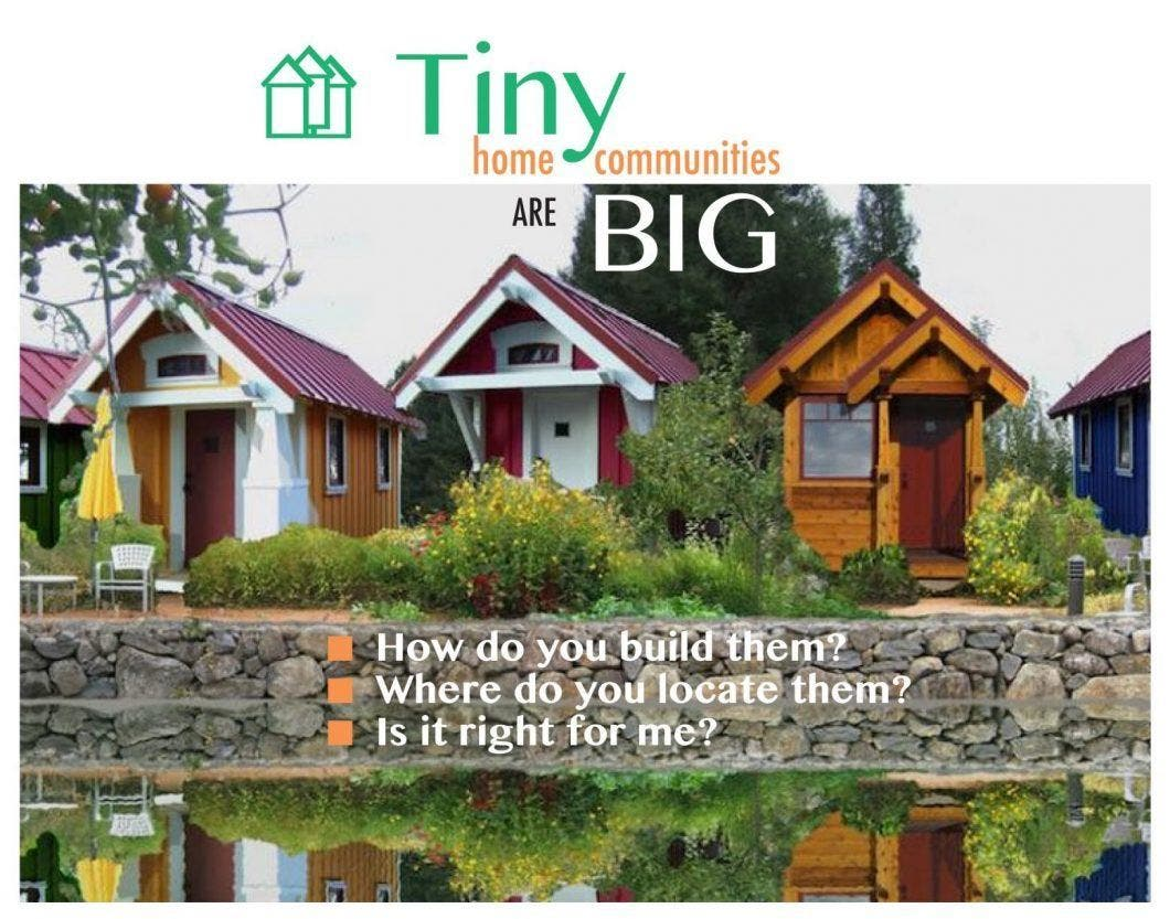 tiny home communities webinar
