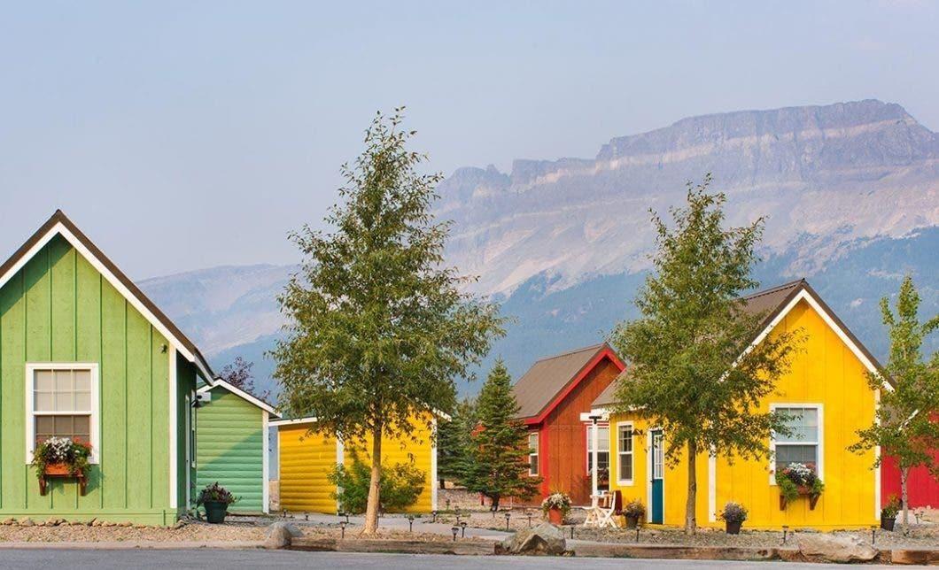 Tiny Homes Come to Glacier National Park