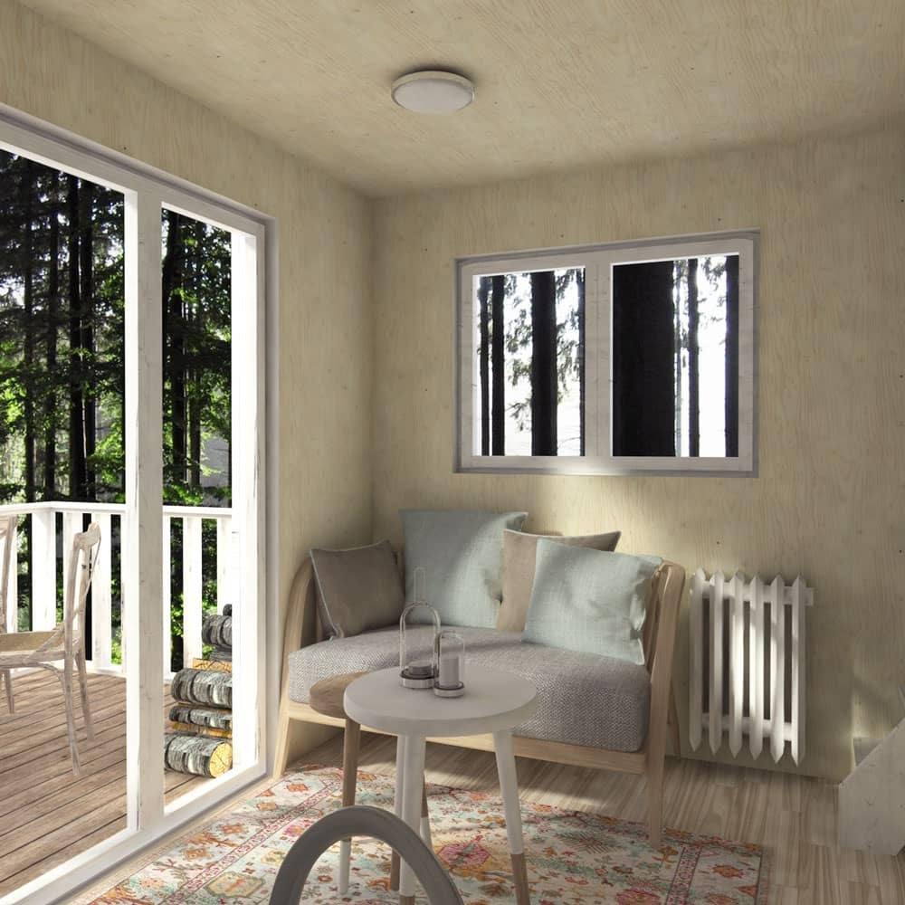 Maja Scandinavian Cabin Plans