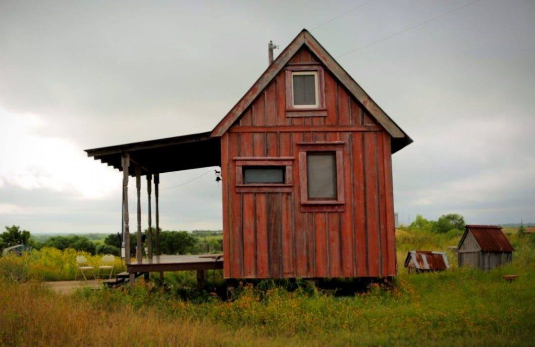 A Philosophy and Tiny Houses Built from Salvaged Materials
