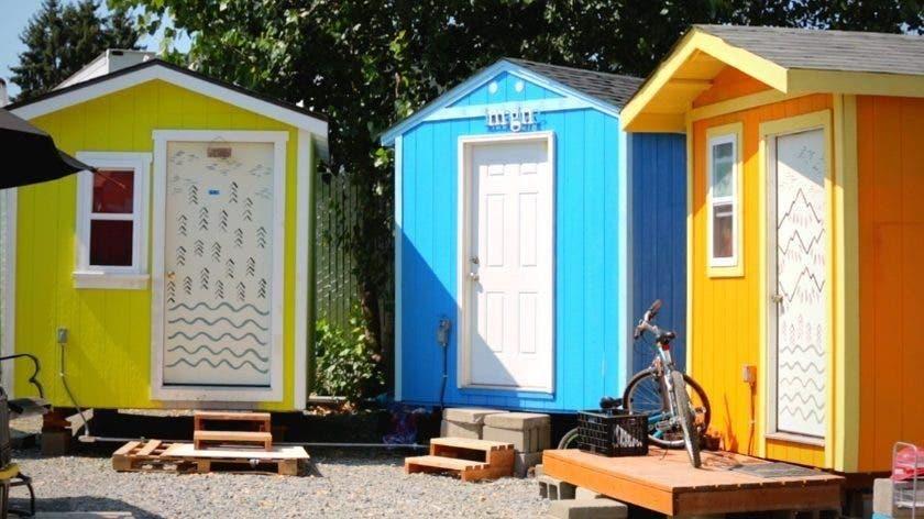 tiny home shelter villages