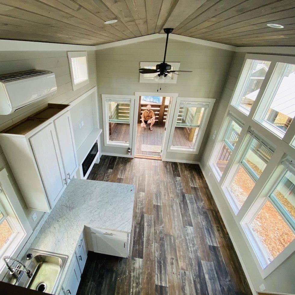 tiny house kitchen image