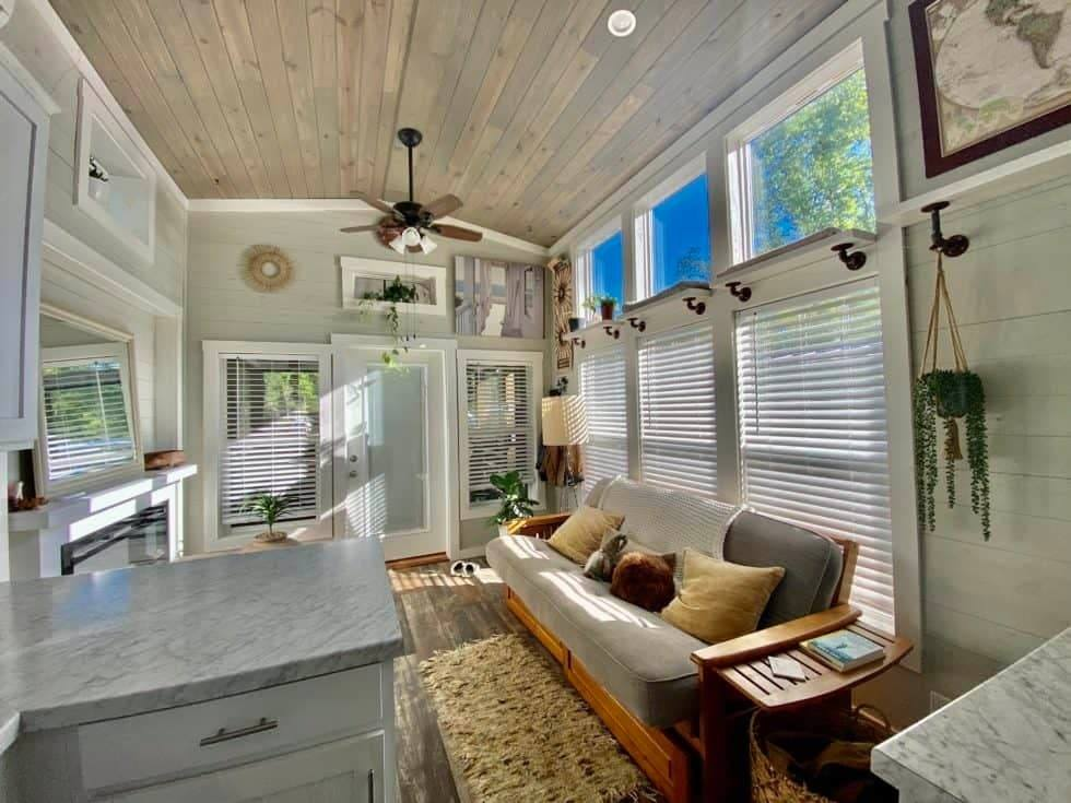 tiny house living room image