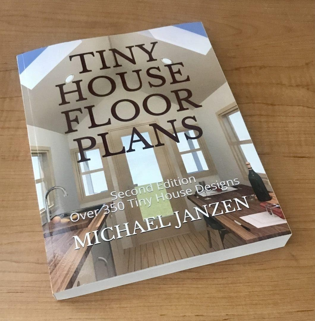 Tiny House Floor Plans print book cover