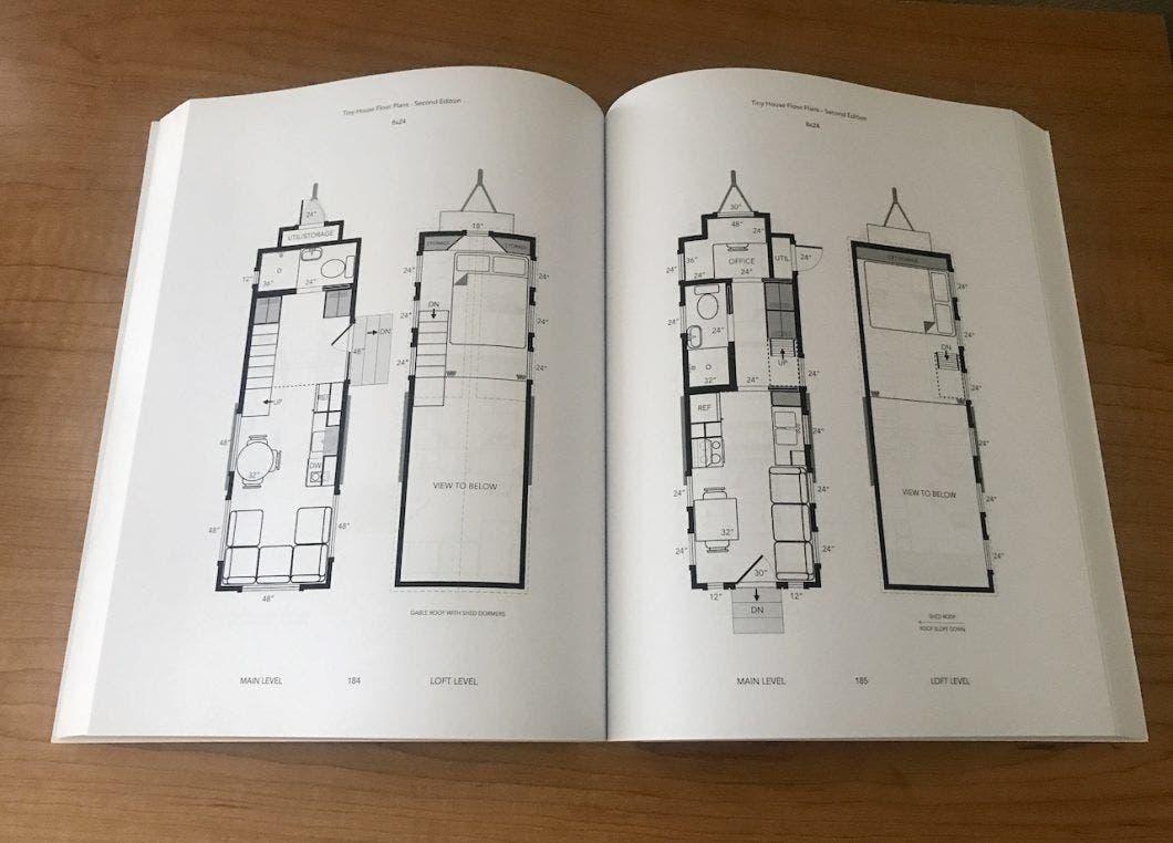 Floor plan print book