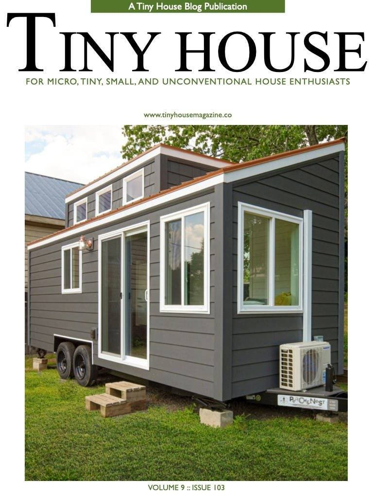 Tiny House Magazine Issue 103 cover