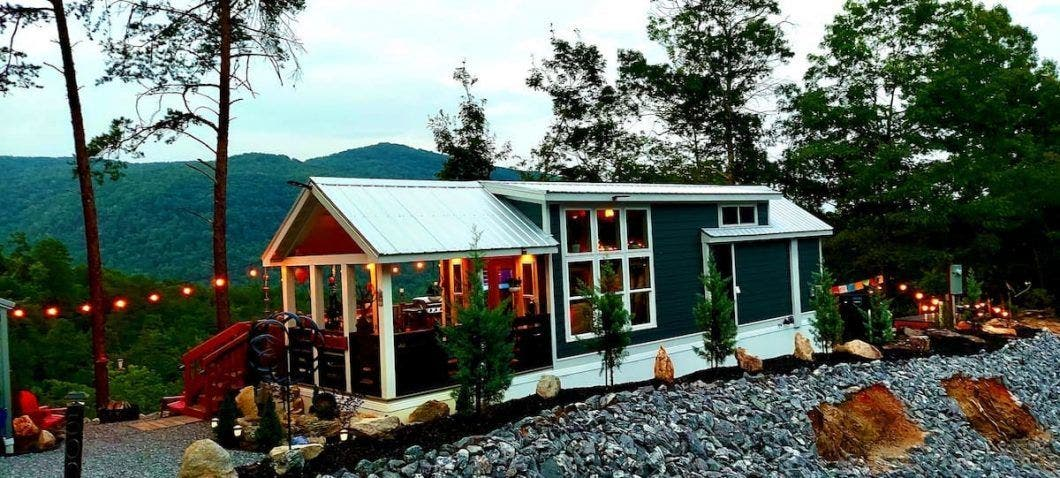twilight and tiny house