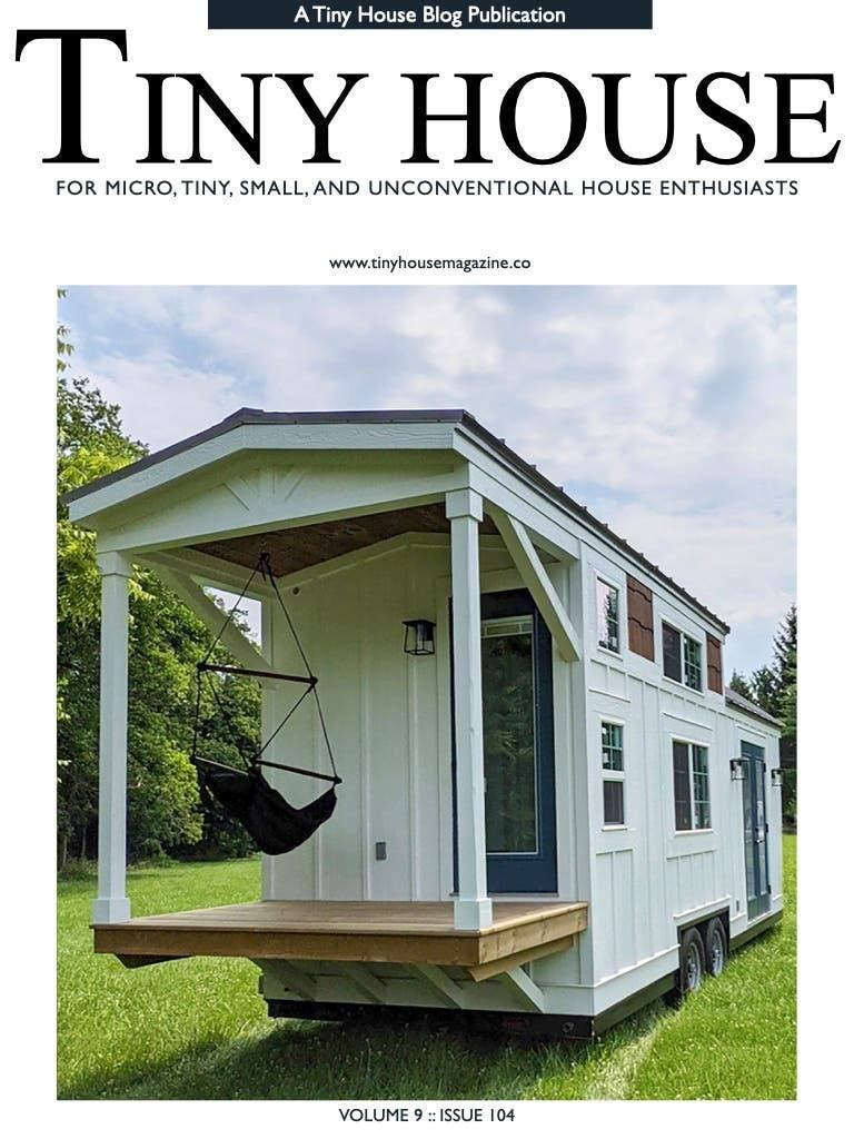 Tiny House Magazine Issue 104 cover