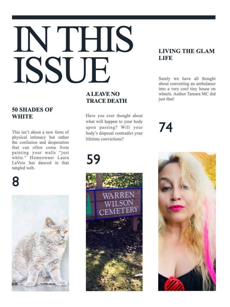 Tiny House Magazine Index