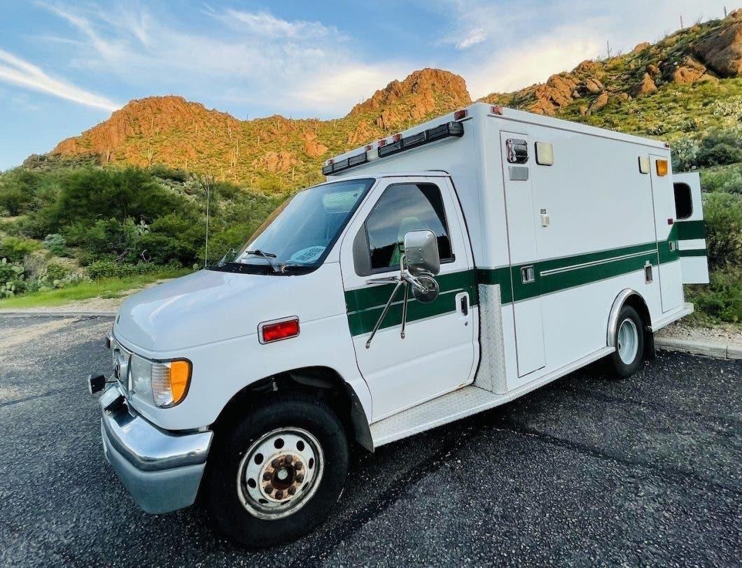 Ambulance van picture