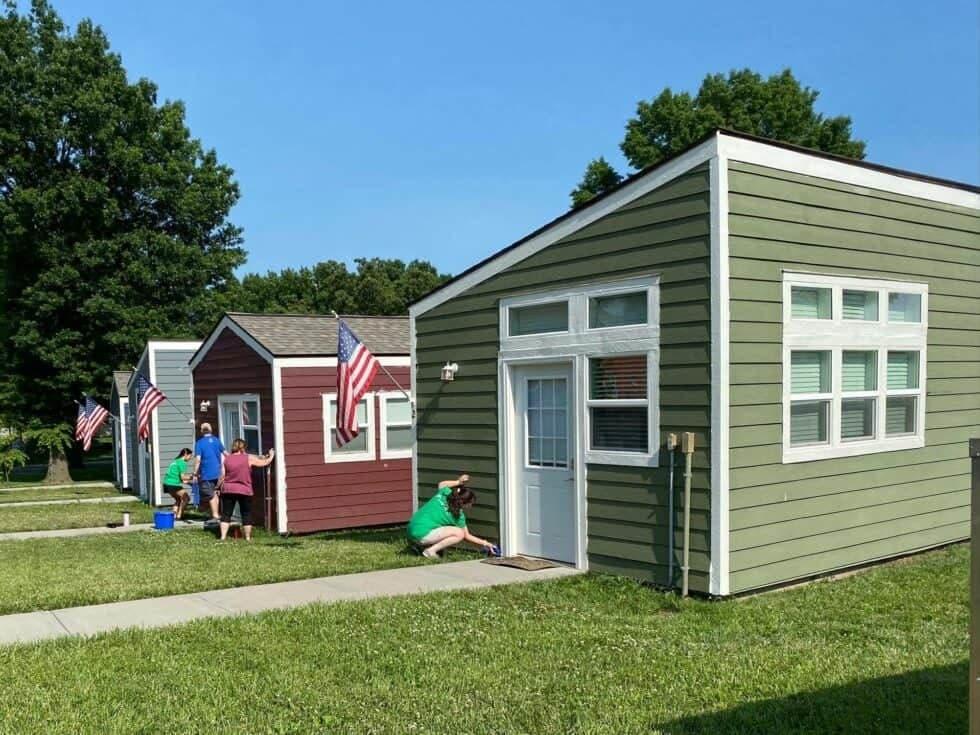 Veteran's tiny homes