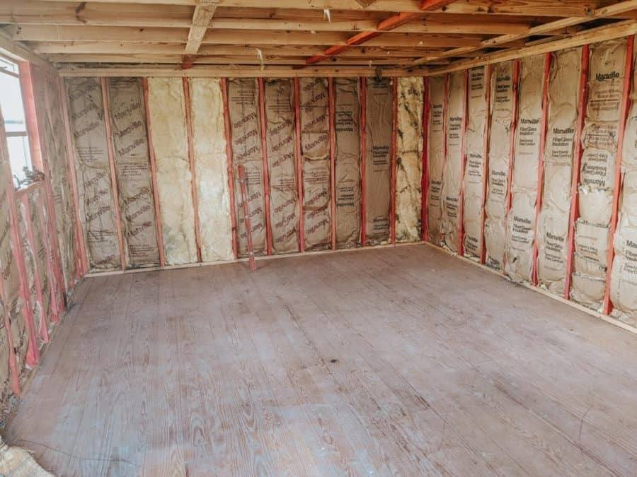 insulation and floors