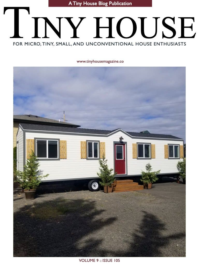 Tiny House Magazine Issue 105 cover