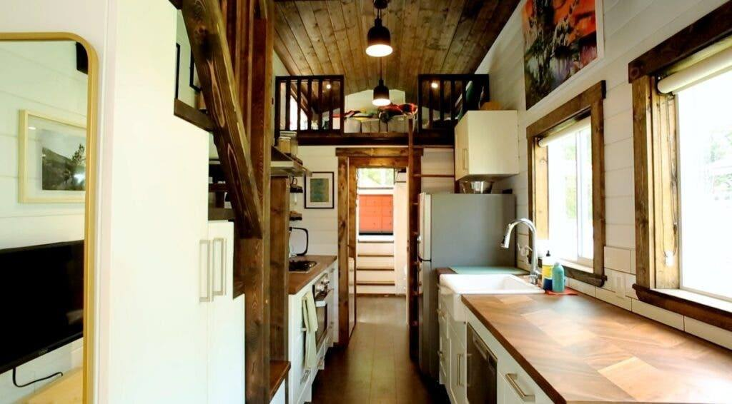 41' gooseneck tiny house